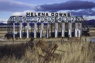 Lewis and Clark County Fairgrounds, Racetrack,  Helena Downs, Helena, Montana