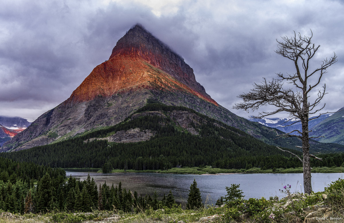 Montana, Glacier National Park, Grinnell Point, photo