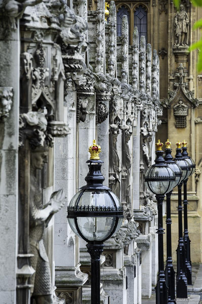 London, England, UK, Parliament House, Lamps, photo